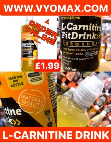 L-CARNITINE FIT DRINK (1 X 500ml)